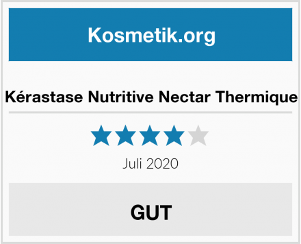 Kérastase Nutritive Nectar Thermique Test