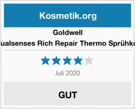 Goldwell Dualsenses Rich Repair Thermo Sprühkur Test