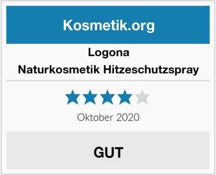 Logona Naturkosmetik Hitzeschutzspray Test