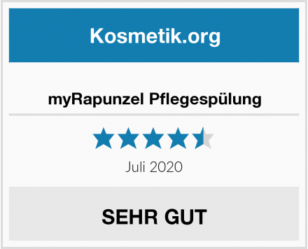 myRapunzel Pflegespülung Test