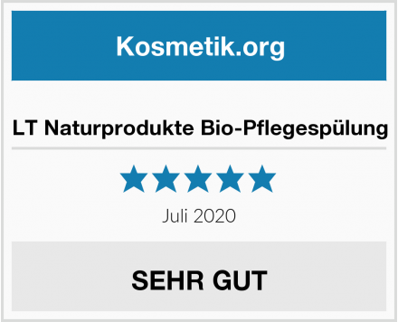 LT Naturprodukte Bio-Pflegespülung Test
