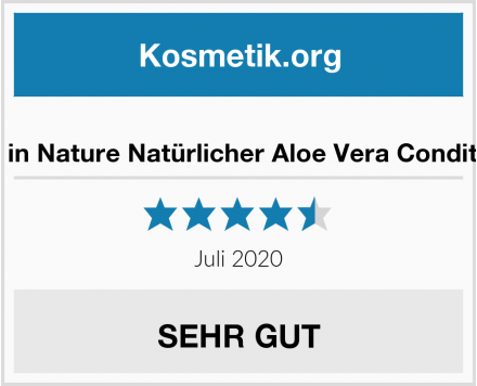 Faith in Nature Natürlicher Aloe Vera Conditioner Test