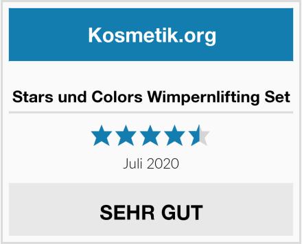 Stars und Colors Wimpernlifting Set Test
