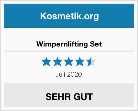 Wimpernlifting Set Test