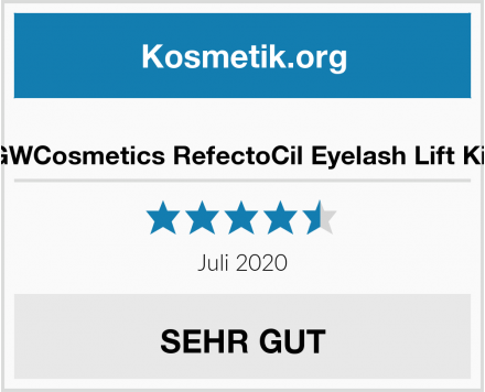 GWCosmetics RefectoCil Eyelash Lift Kit Test