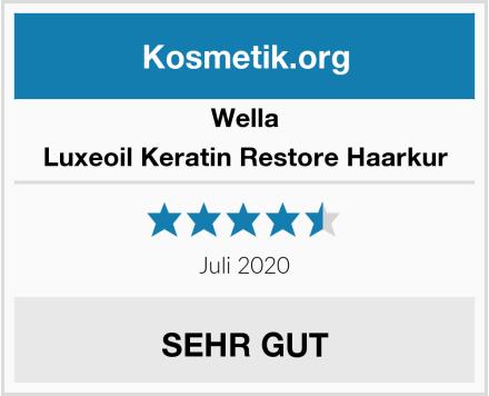 Wella Luxeoil Keratin Restore Haarkur Test