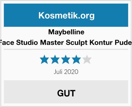 Maybelline Face Studio Master Sculpt Kontur Puder Test