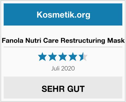 Fanola Nutri Care Restructuring Mask Test