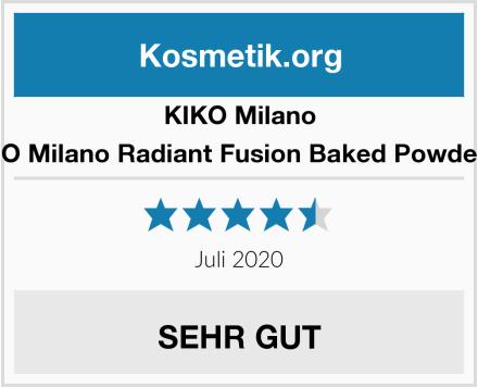 KIKO Milano KIKO Milano Radiant Fusion Baked Powder 02 Test