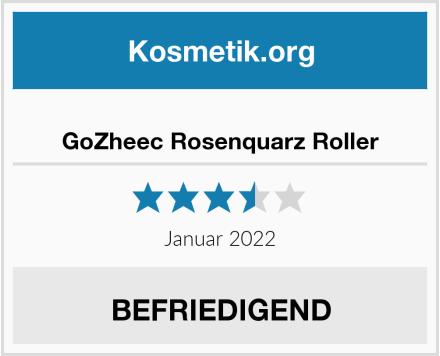 GoZheec Rosenquarz Roller Test