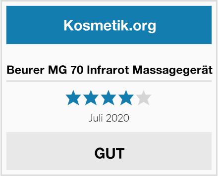 Beurer MG 70 Infrarot Massagegerät Test
