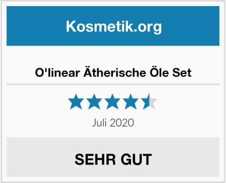 O'linear Ätherische Öle Set Test