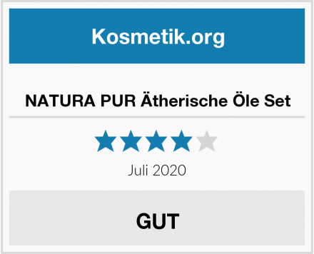 NATURA PUR Ätherische Öle Set Test