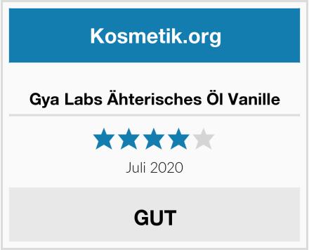 Gya Labs Ähterisches Öl Vanille Test