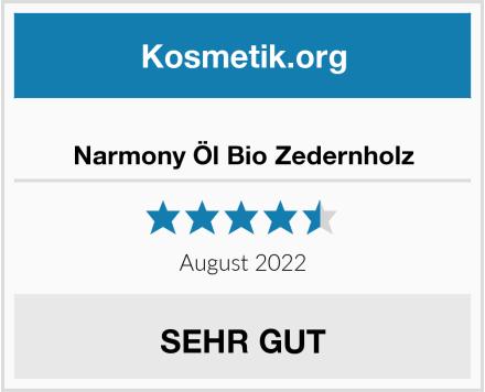 Narmony Öl Bio Zedernholz Test