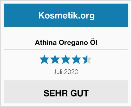 Athina Oregano Öl Test