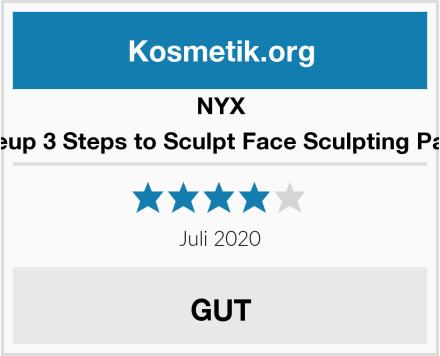 NYX Makeup 3 Steps to Sculpt Face Sculpting Palette Test