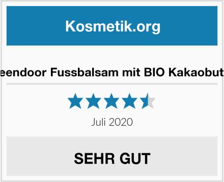 Greendoor Fussbalsam mit BIO Kakaobutter Test
