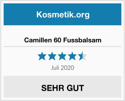 Camillen 60 Fussbalsam Test