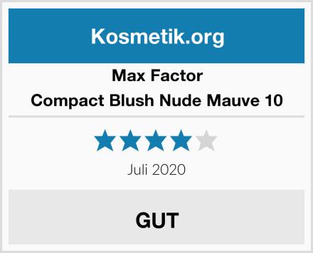 Max Factor Compact Blush Nude Mauve 10 Test
