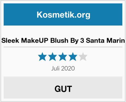 Sleek MakeUP Blush By 3 Santa Marin Test