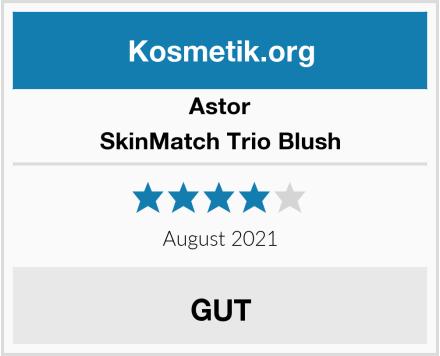 Astor SkinMatch Trio Blush Test