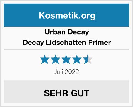Urban Decay Decay Lidschatten Primer Test