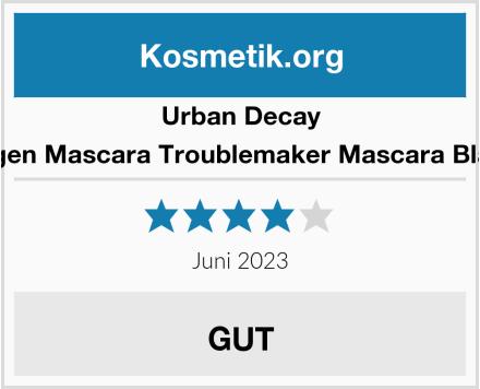 Urban Decay Augen Mascara Troublemaker Mascara Black Test