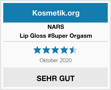 NARS Lip Gloss #Super Orgasm Test