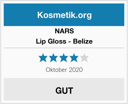 NARS Lip Gloss - Belize Test
