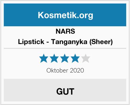 NARS Lipstick - Tanganyka (Sheer) Test