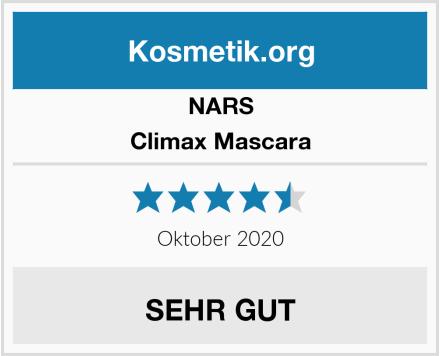 NARS Climax Mascara Test