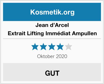 Jean d'Arcel Extrait Lifting Immédiat Ampullen Test