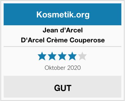 Jean d'Arcel D'Arcel Crème Couperose Test