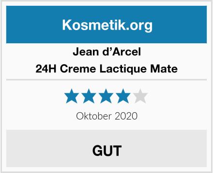 Jean d'Arcel 24H Creme Lactique Mate Test