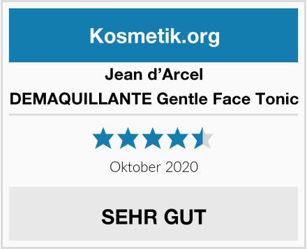 Jean d'Arcel DEMAQUILLANTE Gentle Face Tonic Test