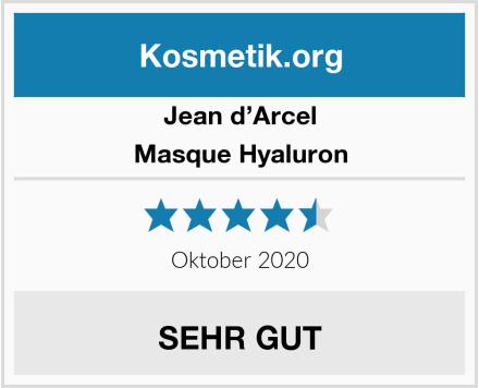 Jean d'Arcel Masque Hyaluron Test
