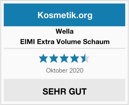 Wella EIMI Extra Volume Schaum Test
