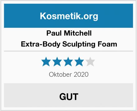 Paul Mitchell Extra-Body Sculpting Foam Test