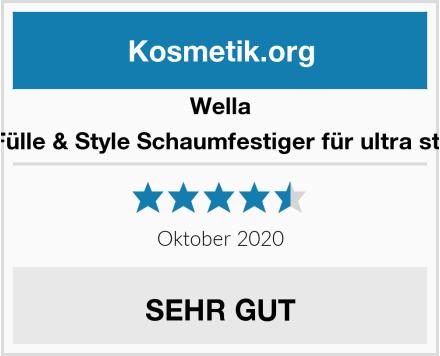 Wella Wellaflex Fülle & Style Schaumfestiger für ultra starken Halt Test