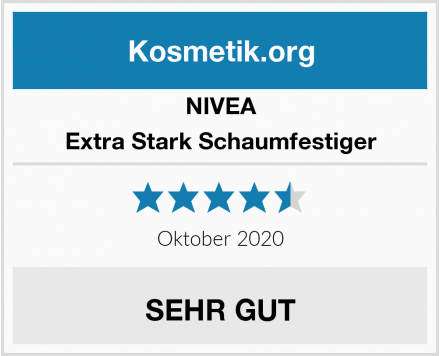 NIVEA Extra Stark Schaumfestiger Test