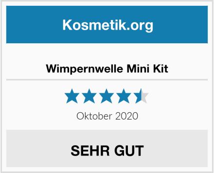 Wimpernwelle Mini Kit Test