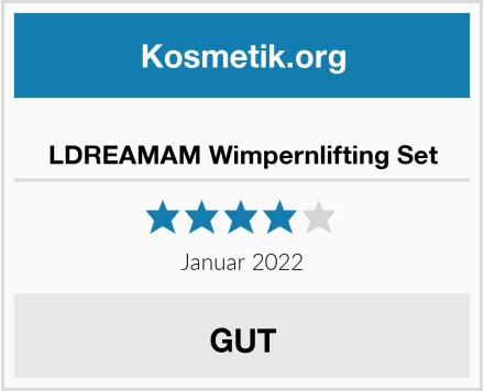 LDREAMAM Wimpernlifting Set Test