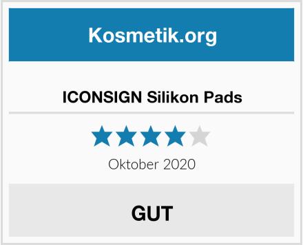 ICONSIGN Silikon Pads Test