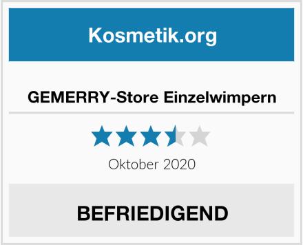 GEMERRY-Store Einzelwimpern Test