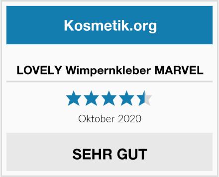 LOVELY Wimpernkleber MARVEL Test