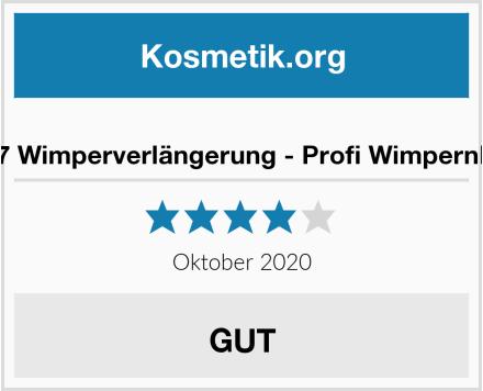 eauty7 Wimperverlängerung - Profi Wimpernkleber Test