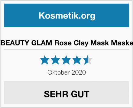 BEAUTY GLAM Rose Clay Mask Maske Test