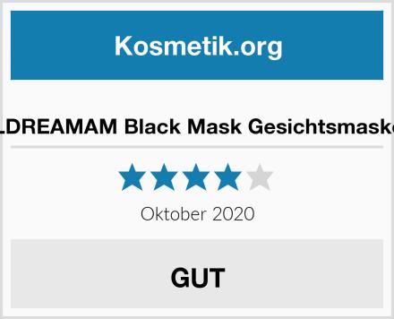 LDREAMAM Black Mask Gesichtsmaske Test