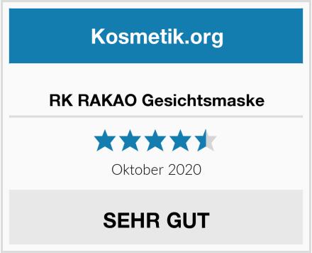 RK RAKAO Gesichtsmaske Test